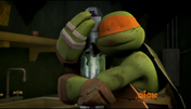 Tmnt 2012 mikey and his mommy by dajamodernthehedgie-d5ndpx2
