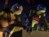 Tmnt 2012 donny and leo by sarahdragon-d55t2bo