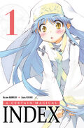 A Certain Magical Index Manga v01 French cover