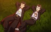Yuji's friends shirts