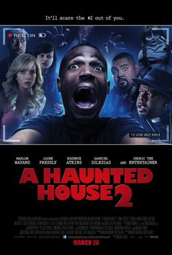 AHauntedHouse2Poster