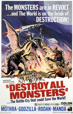 Destroy All Monsters 1968