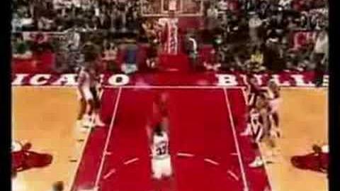 Michael Jordan The Best Dunk of his Life