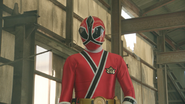 Super Hero Time - Shinken Red