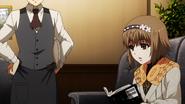 Hinami asking Kaneki how to read some characters
