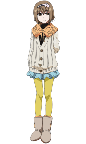 Hinami anime design front view