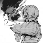 Arima stabs Shachi's eye