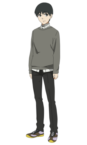 Kaneki anime design front view