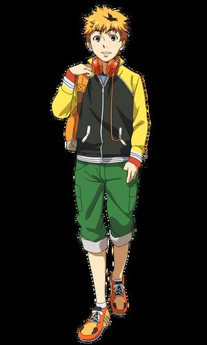 Nagachika anime design front view