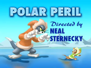 Polar Peril - Title card with Tom scaring Jerry