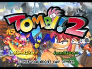Tombi! 2 Title Screen