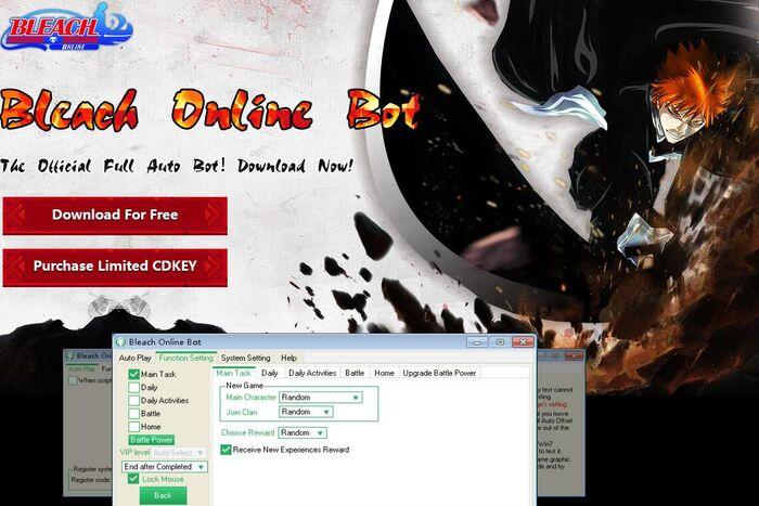 bleach online game helper