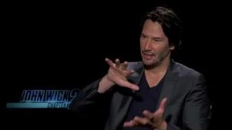 Keanu Reeves Interview John Wick Chapter 2 PIE