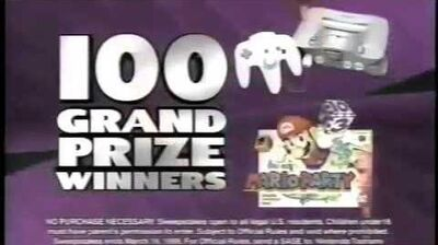 Mario Party - Toonami Sweepstakes (March 1999)