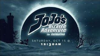 JoJo's Bizarre Adventure - 1st Toonami Promo