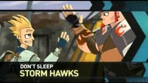 Storm Hawks Toonami Bumpers