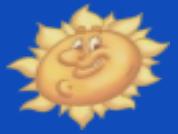 The sun on Toontown