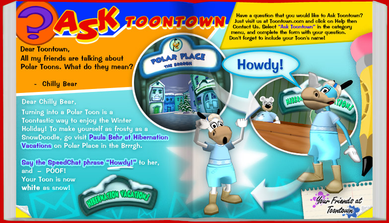 No color toontown wiki fandom powered by wikia for Toontown fishing guide