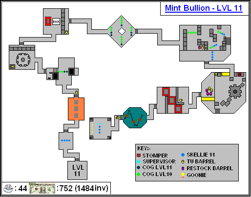 Mint Maps - Bullion Lvl11