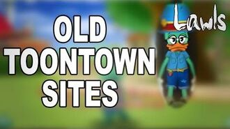 Revisiting Old Toontown Sites! From The Beta To The Final Version!