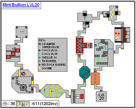Mint Maps - Bullion Lvl20