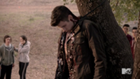 Teen Wolf Season 3 Episod 4 Unleashed Jesy McKinney Kyle Dead