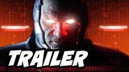 Injustice 2 Trailer Reaction Gameplay and Cut Scenes - Darkseid and Braniac