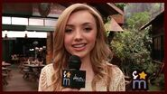 "Peyton List Teases BUNK'D Love Triangle, ""Gone Girl"" Episode & More"
