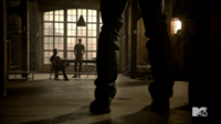 Teen Wolf Season 3 Episode 2 Tyler Hoechlin Daniel Sharman Derek's Loft