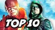 Arrow Season 5 Episode 11 - The Flash and Black Canary TOP 10 WTF and Easter Eggs