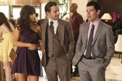 New girl wedding