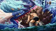 Leodragon and Crush Turtle