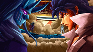 Toriko battles Starjun