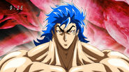 Toriko after eating Jewel Meat 2