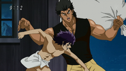 Midora fights Ichiryuu