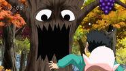 Dancing Grape scaring Komatsu and Yun