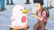 Komatsu feeding Yun