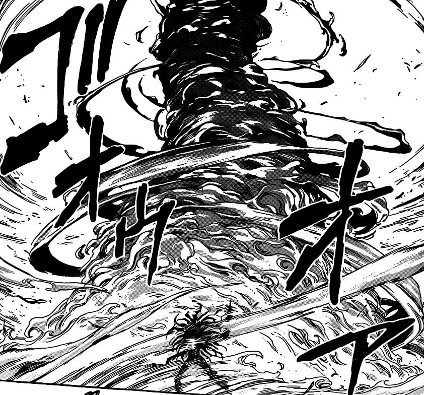 Toriko Angry At Starjun Jpg: Image - Starjun Using Flame Tornado To Defend.jpg