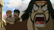 Zonge scared by Scum Beast