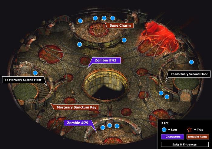 Mortuary 3rd floor map