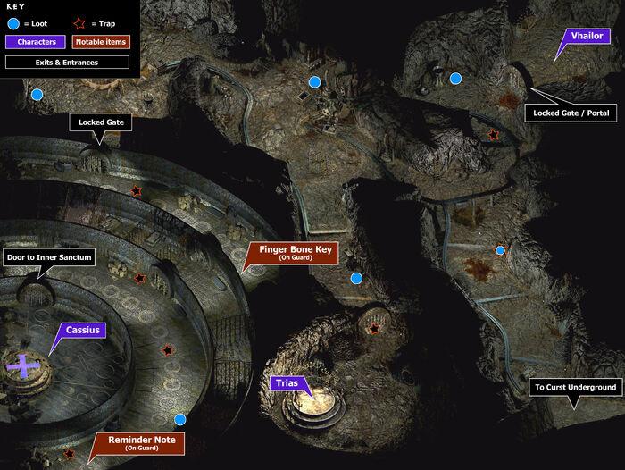 Curst prison map