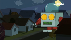 Total Drama Machine looking for Duncan