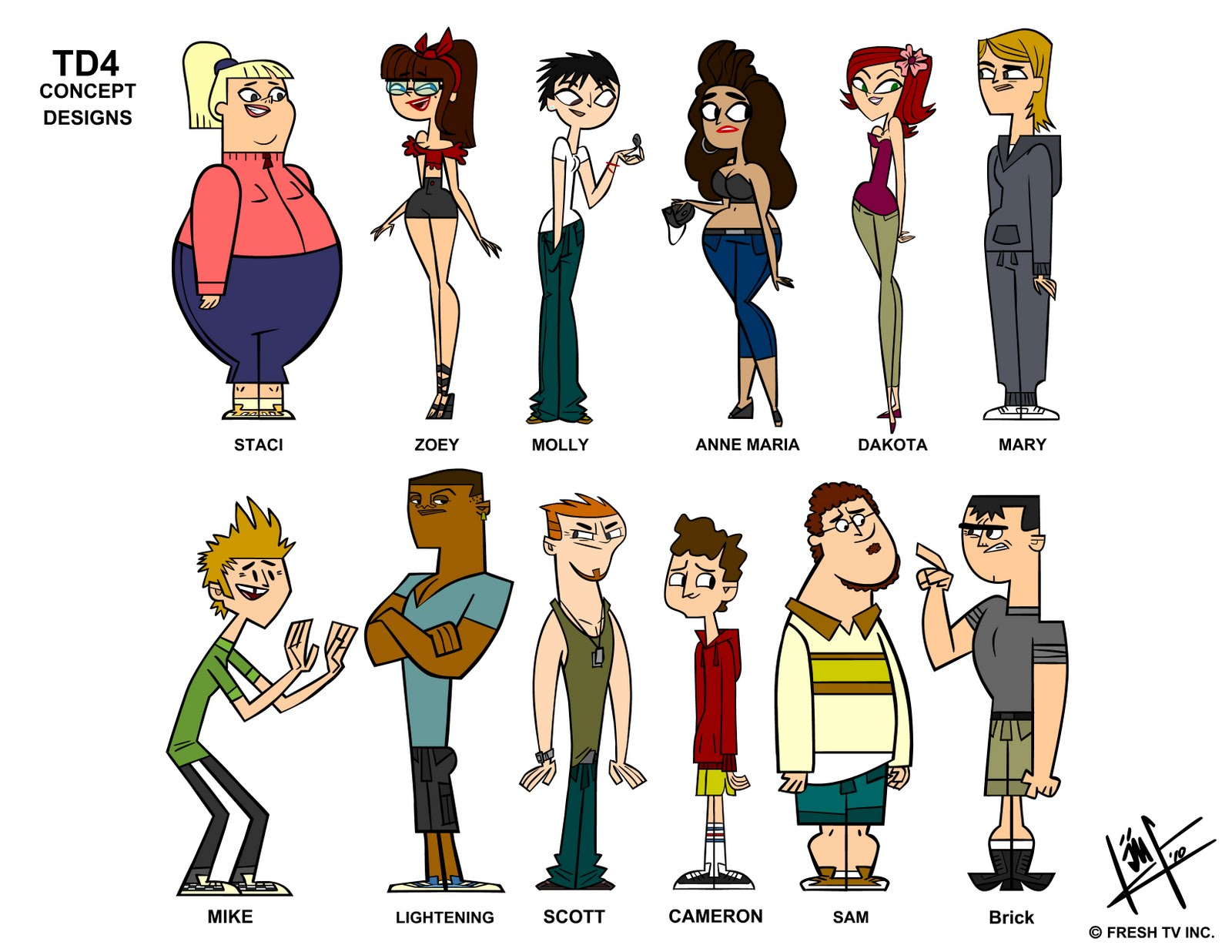 Total drama revenge of the island total drama wiki for The book of life characters names