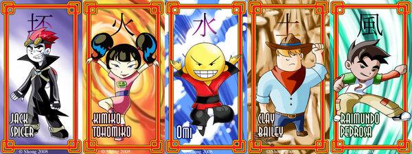 File:Xiaolin ShowDown Cards by shongcredible.jpg