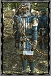 Dismounted French Archers