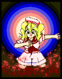 Chiyuri's alternate color in PoDD