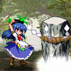 Tenshi summons a keystone pillar to fall from the heavens