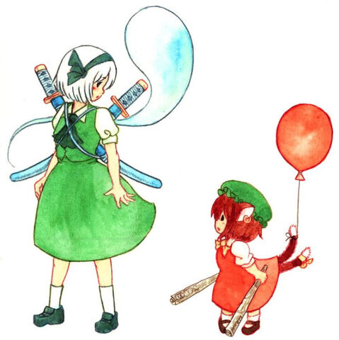 File:Chen and youmu.jpg