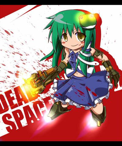 File:Sanae X Dead Space 2.jpg