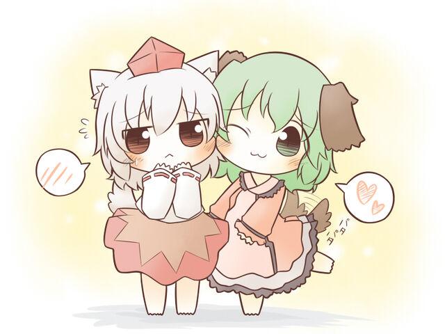 File:Touhou - Momiji & Kyouko4.jpg